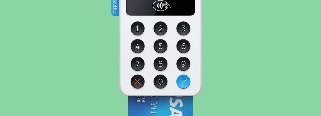 iZettle lecteur de carte bancaire mobile