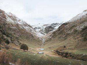 Vallée montagneuse en Andorre